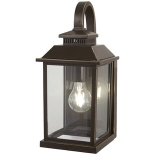 Helms 1 Light Outdoor Wall Lantern