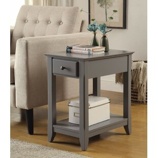 Buy luxury Krohn End Table with Storage By Alcott Hill