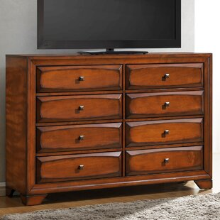 Beagan 8 Drawer Double Dresser by Winston Porter Comparison