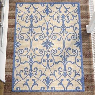 Hoyne Blue Indoor/Outdoor Area Rug