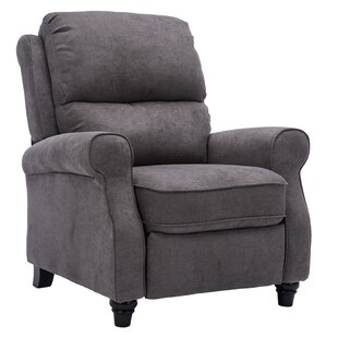 Southborough Blue Gray Manual Recliner