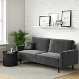 Earle Full 77.5 Convertible Sofa by Hashtag Home