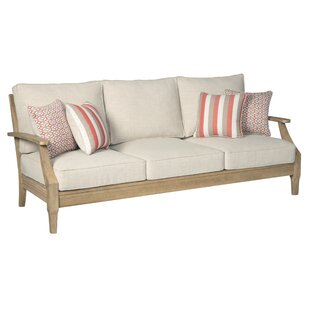 Anguiano Patio Sofa with Cushions