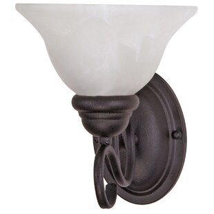 Savings Claycomb 1-Light Wall Sconce By Fleur De Lis Living