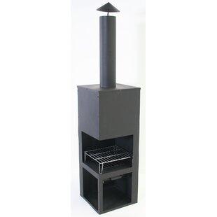 Noel Steel Wood Burning Chiminea By Belfry Heating