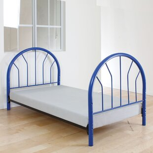 Annabella Twin Open-Frame Headboard And Footboard by Harriet Bee Looking for