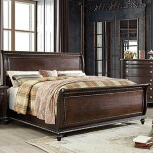 Compare prices Benham Sleigh Bed by Darby Home Co Reviews (2019) & Buyer's Guide