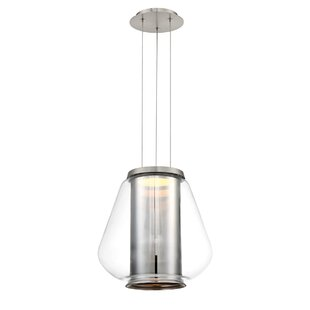 Orren Ellis Bosnjak 1-Light LED Cone Pend..