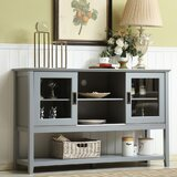 Lys 55 Wide Buffet Table by Highland Dunes