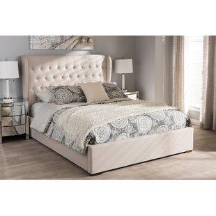 Everly Quinn Mablethorpe Queen Upholstered Platform Bed