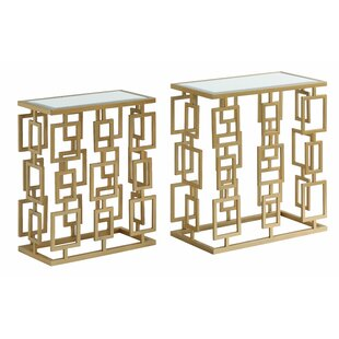 Everly Quinn Krause 2 Piece Nesting Tables