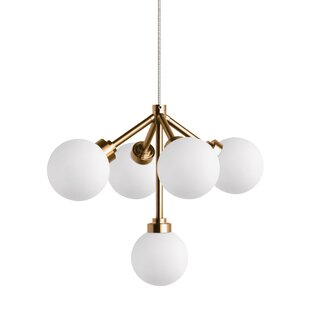 Orren Ellis Penwell 5-Light Chandelier