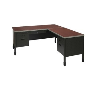 Mesa Series L-Shaped Executive Desk by OFM