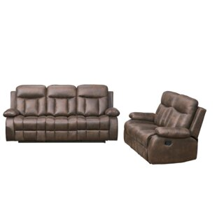 Woodlake 2 Piece Reclining Living Room Set by Red Barrel Studio