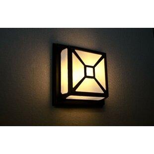 Aalin 2-Light Outdoor Bulkhead Light By Marlow Home Co.
