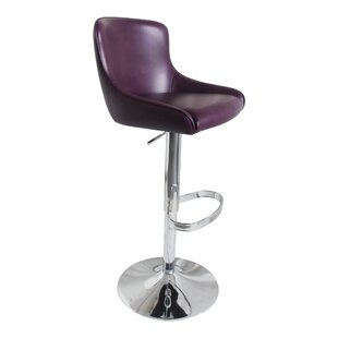 Bohannan Adjustable Height Bar Stool by Orren Ellis Bargain