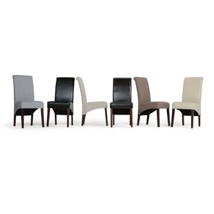 Agnon Deluxe Upholstered Dining Chair (Set of 2) Alcott Hill