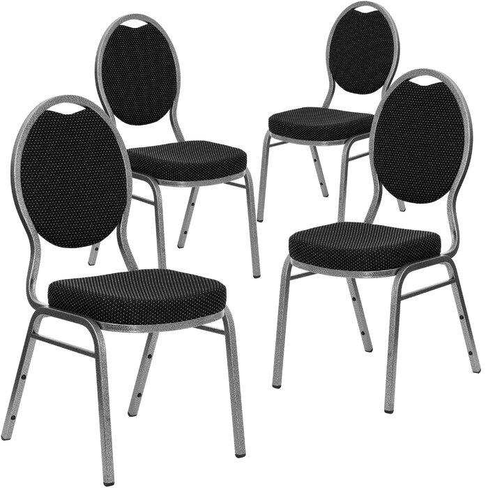 Pleasant Hercules Series Teardrop Back Banquet Chair Creativecarmelina Interior Chair Design Creativecarmelinacom