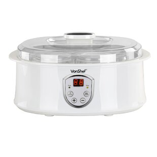 Automatic Digital 1.3 Qt. Yogurt Maker with LCD Display Screen
