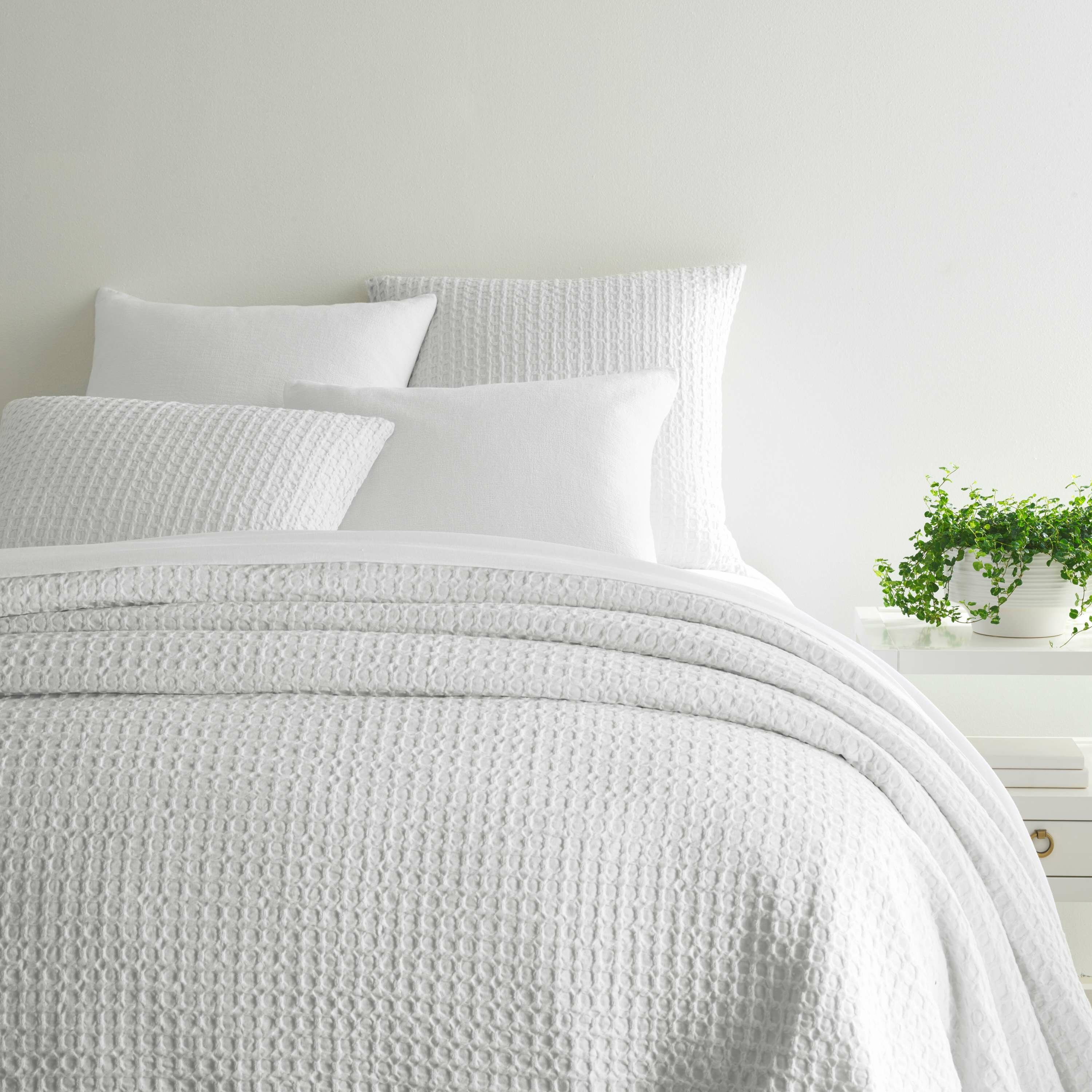 Pine Cone Hill Waffle Cotton Coverlet Reviews Wayfair