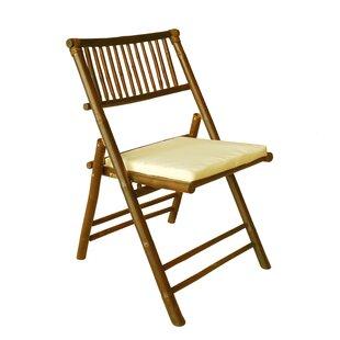 Champion Folding Beach Chair with Cushion (Set of 2)