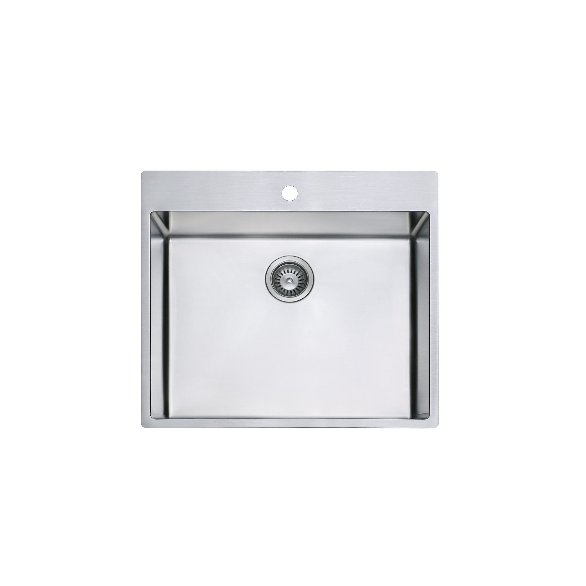 Be Hope Single Undermount Kitchen Sink 25 Inch Stainless Steel Wayfair