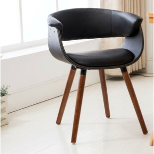 Visconti Upholstered Dining Chair by George Oliver Great price