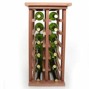 12 Bottle Floor Wine Rack
