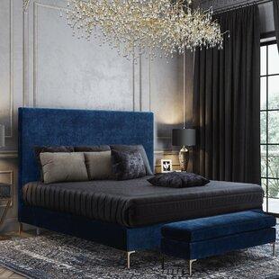 Everly Quinn Laxman Upholstered Platform Bed
