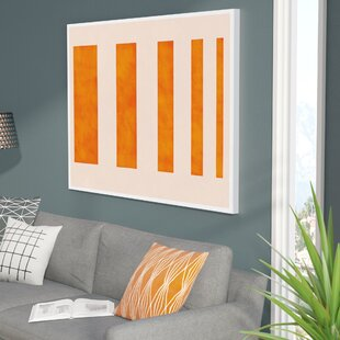 Icanvas Modern Wavy Lines Graphic Art On Canvas