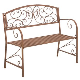 Metal Bench By Lily Manor