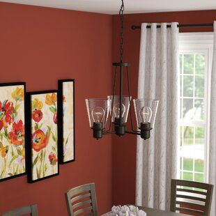 Selinsgrove 3-Light Shaded Chandelier by Red Barrel Studio
