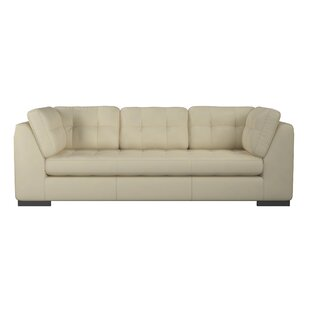 Ohio Leather Sofa by Westland and Birch Today Sale Only
