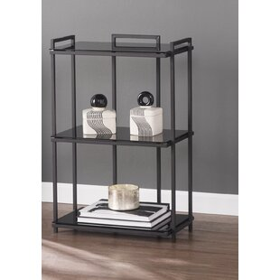 Spring Street 3-Tier Storage Shelves Etagere Bookcase by Ebern Designs