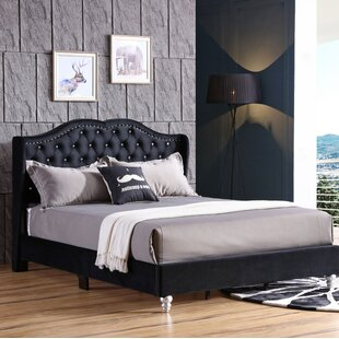 Colbourne Upholstered Panel Bed by Rosdorf Park