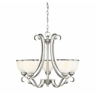 Nan 5-Light Shaded Chandelier by Darby Home Co