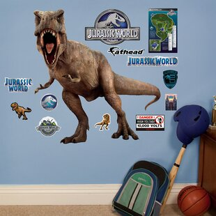 NBC Universal T-Rex - Jurassic World Peel and Stick Wall Decal. by Fathead