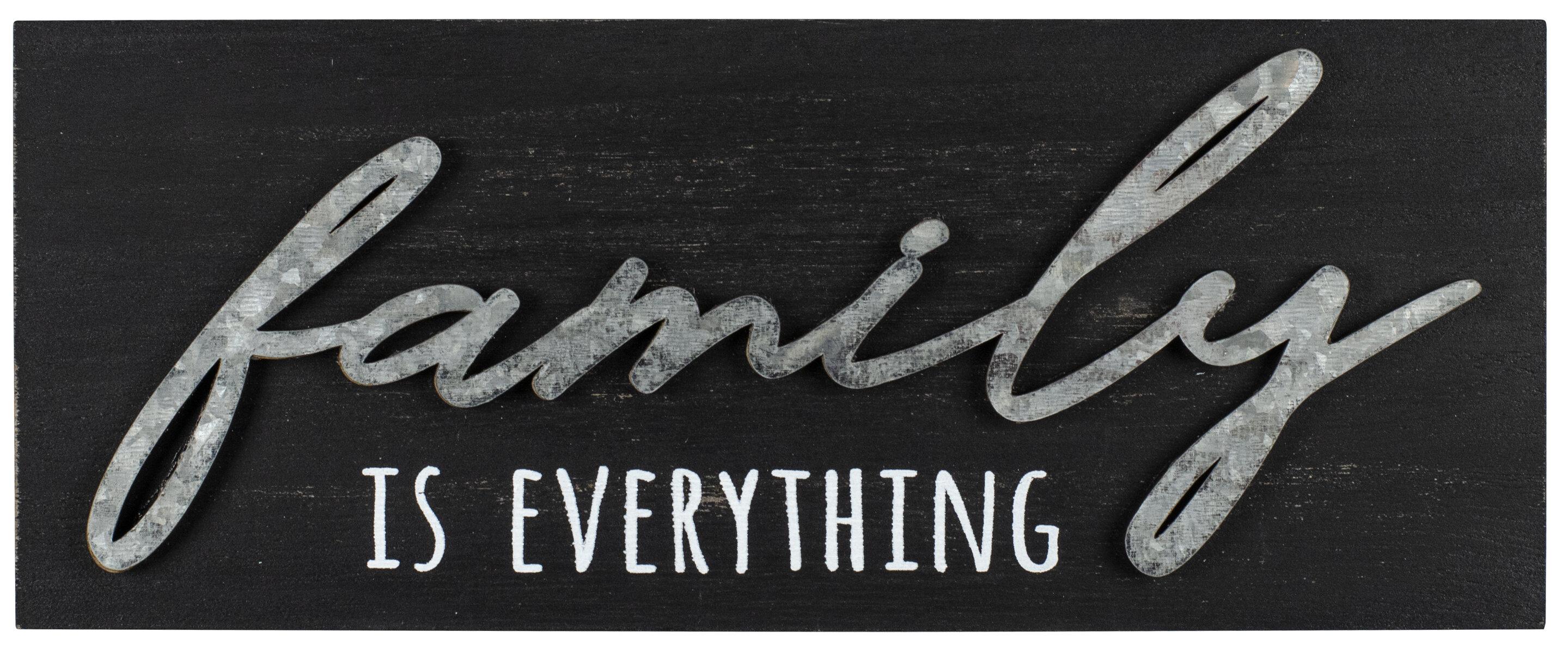 Gracie Oaks Eringisl Family Plaque Heartland Sign Wayfair