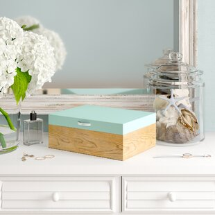 Inexpensive 2 Tones Jewelry Box By Highland Dunes