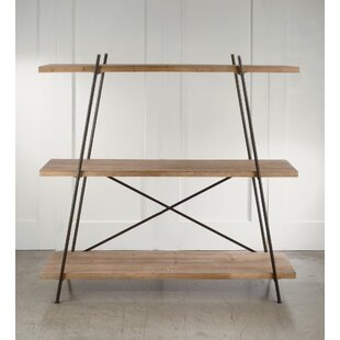 Collum Metal and Wood Etagere Bookcase by Gracie Oaks