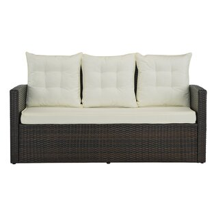 Jaxon Outdoor Patio Sofa with Cushions
