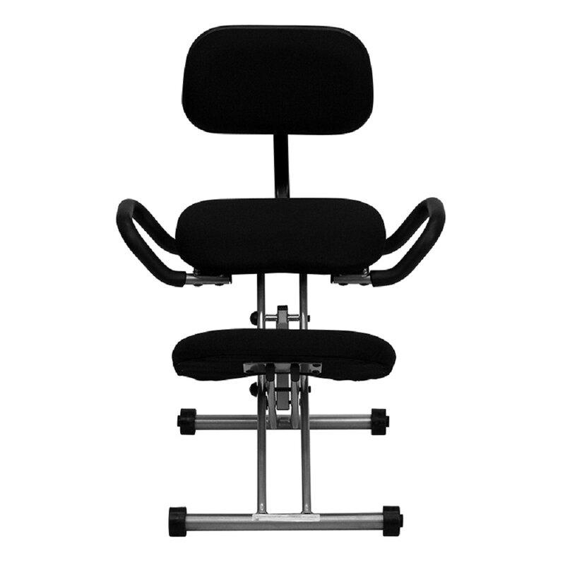 Latitude Run Bookham Height Adjustable Kneeling Chair Wayfair