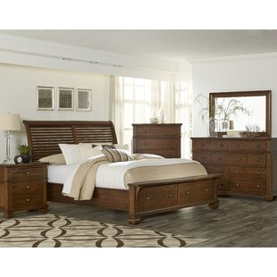 Chattanooga Platform 5 Piece Bedroom Set by Loon Peak