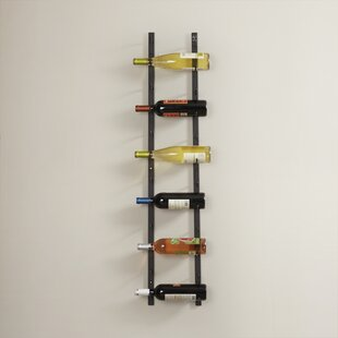 12 Bottle Wall Mounted Wine Rack by Vinta..