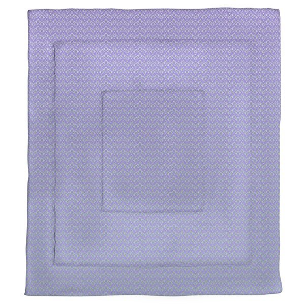 Ebern Designs Leffel Art Deco Single Reversible Comforter Wayfair