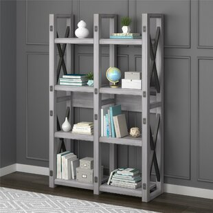 Gladstone Etagere Bookcase by Laurel Foundry Modern Farmhouse 2019 Sale