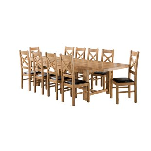 Apollonia Large Extending Dining Set With 10 Chairs By Gracie Oaks