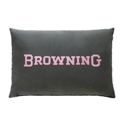 Buckmark Plaid Oblong Lumbar Pillow Browning
