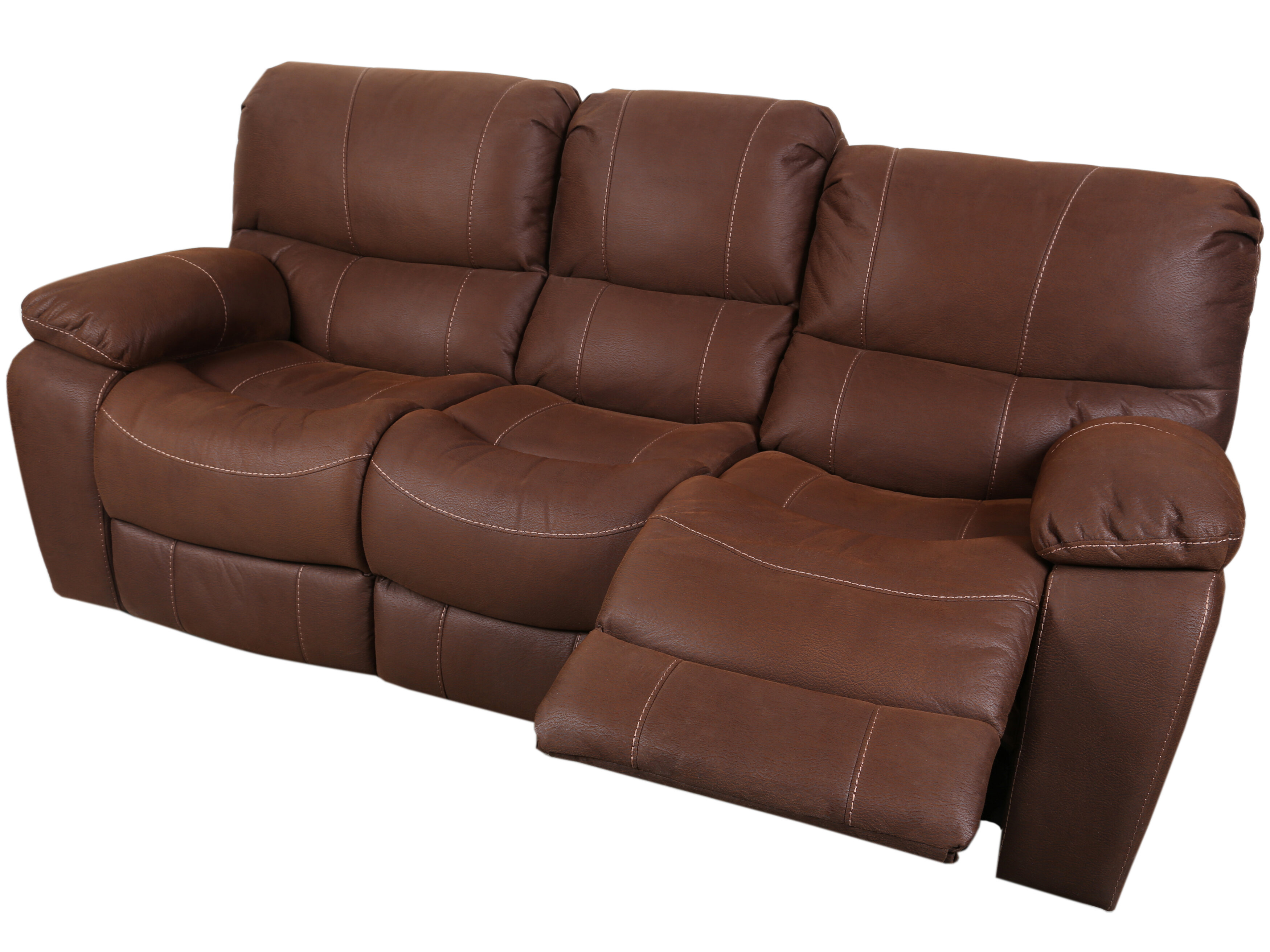 Bon Three Posts Gracehill Modern 3 Seats Reclining Sofa | Wayfair