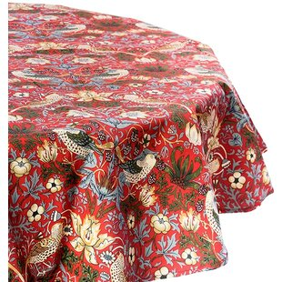 Lansdale Strawberry Thief Tablecloth By Lily Manor